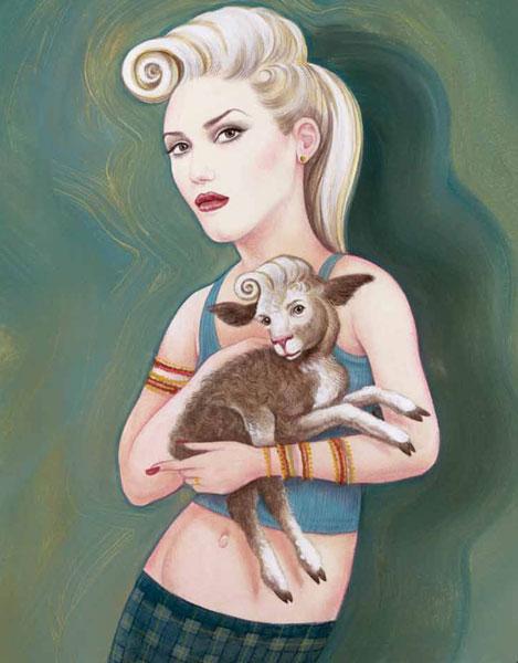 Gwen illustration by anita kunz sciox Gallery
