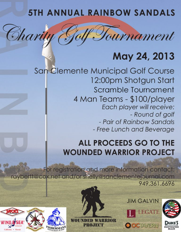 5th Annual Rainbow Sandals Charity Golf Tournament / May 24, 2013