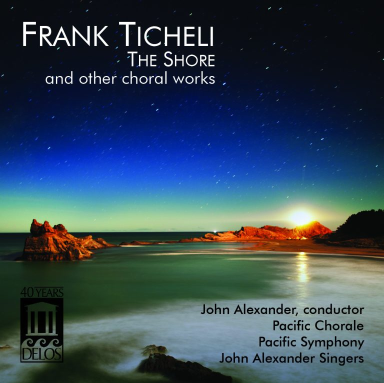Pacific Chorale Releases Recording of Songs by Frank Ticheli