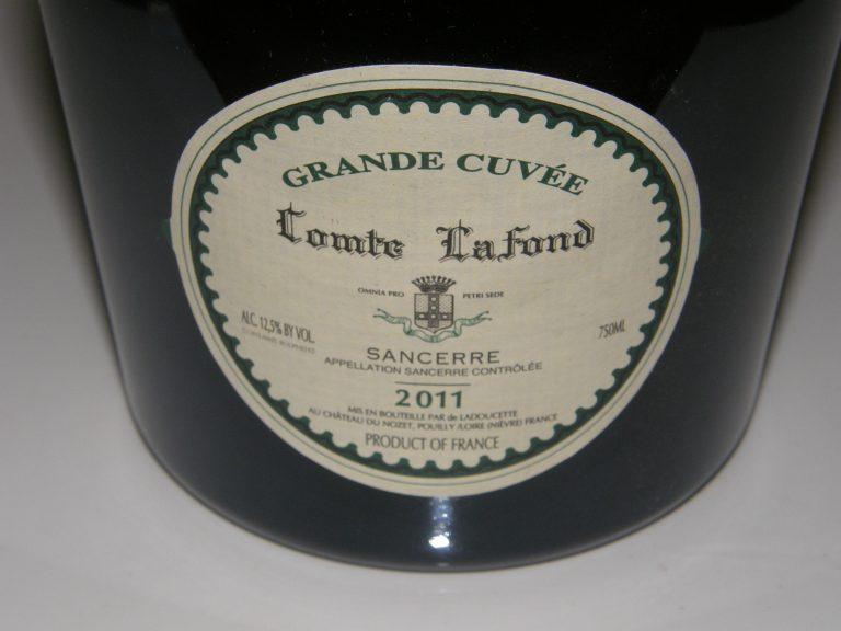 Must-Try Wine of the Week: 2011 Ladoucette Comte LaFond Grand Cuvée Blanc Sancerre France