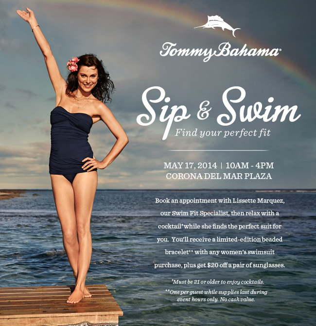 Relax at Tommy Bahama's Sip and Swim Event / May 17, 2014