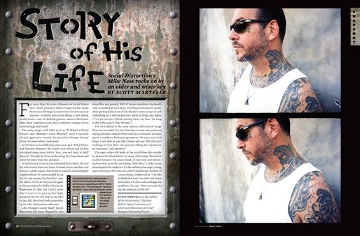 Mike Ness Story Of His Life Orange Coast