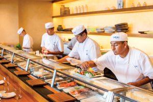 Sushi at Nobu Malibu