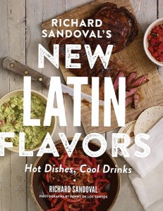 New Latin Flavors Richard Sandoval book cover