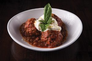 Deservedly popular Mama Mia meatballs