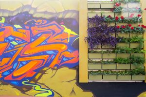 Graffiti Art Living Wall 4th Street Market