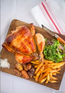 Moulin poulet frites