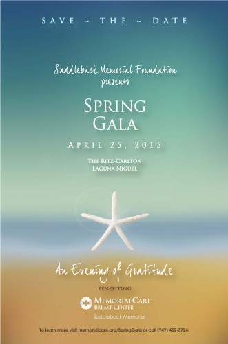 Spring Gala 2015 Save-the-Date