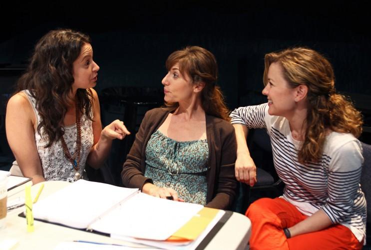 Katie Lowes, Tessa Auberjonois and Kathleen Early