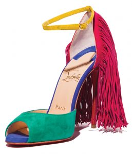 The Otrot sandal by CHRISTIAN LOUBOUTIN pairs with almost anything. $1,295, NEIMAN MARCUS, NEWPORT BEACH, 949-759-1900, NEIMANMARCUS.COM