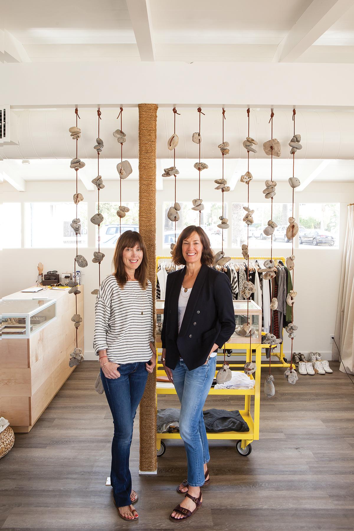 Shop owners Dana Marron, and Laura Hart.