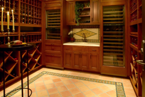 Wine Cellar with SubZero Units