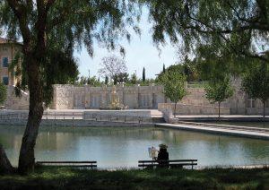 Peace Lake at Soka University