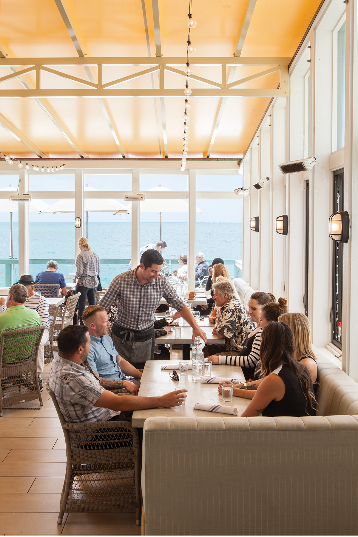 driftwood kitchen: with a view like this, does the food really