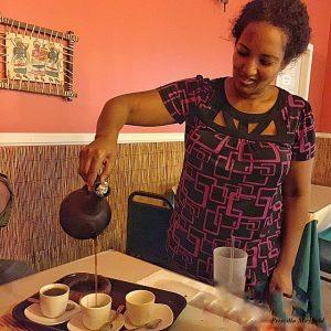 Tana Ethiopian coffee service