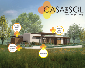 Casa del Sol, the U.S. Department of Energy Solar Decathlon entry by Team Orange County