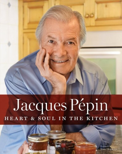 Jacques Pepin Heart & Soul cover