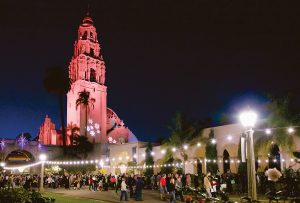 Balboa Park is the place to celebrate Balboa Park December Nights.