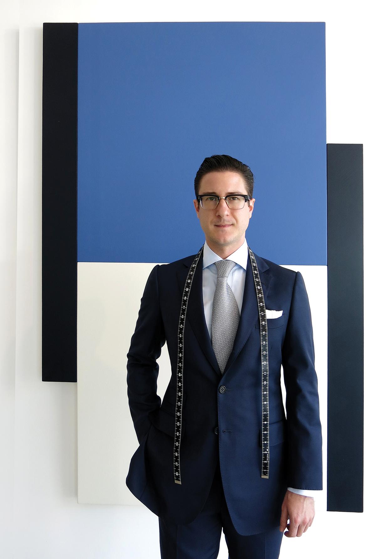 Artist & Gentleman: Newport Beach menswear designer Mark Pomerantz