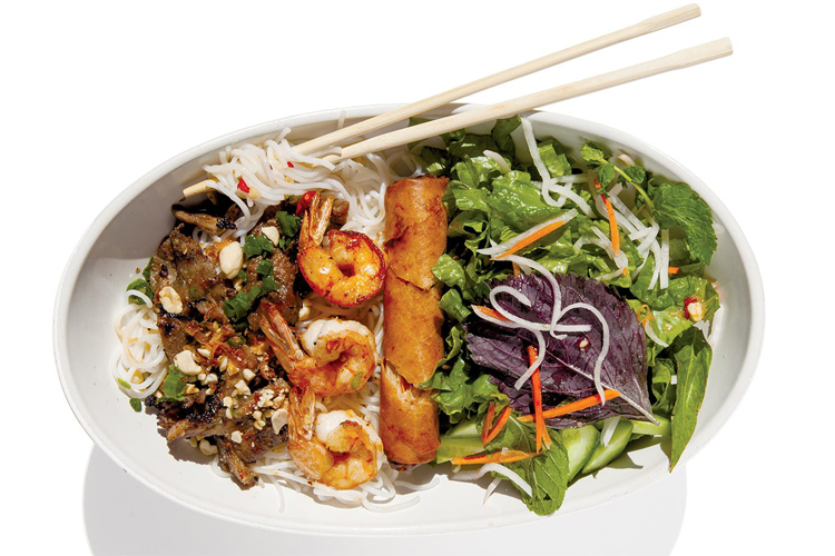 Vietnamese Noodle Salad: It's light and cool, and oh so satisfying - Orange Coast