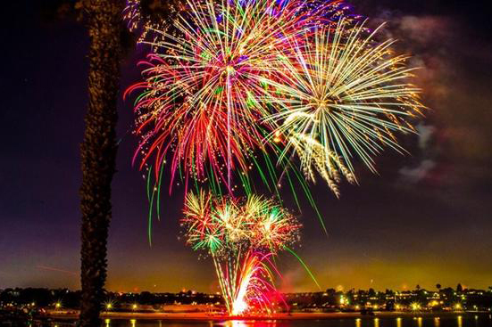 ten places to see fireworks in orange county on july 4th