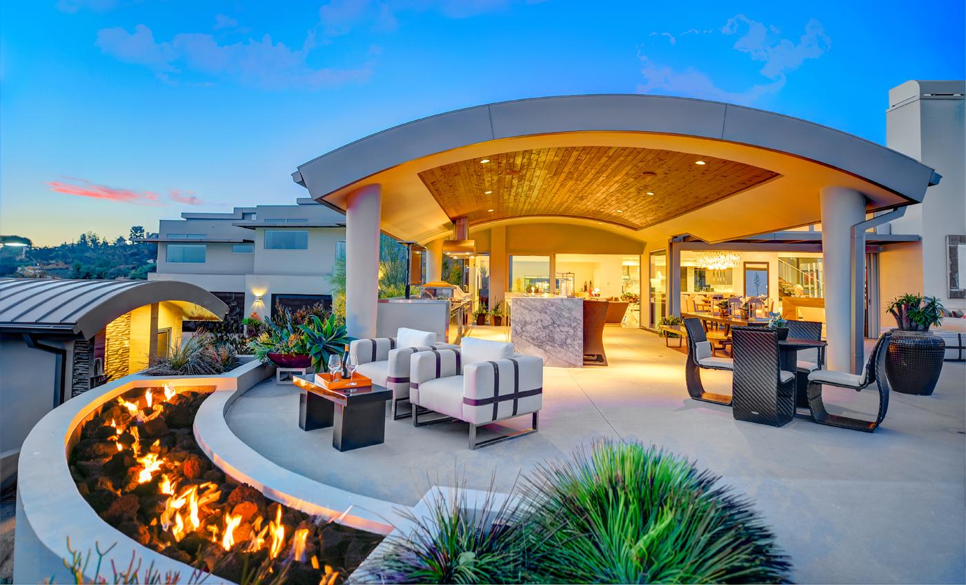 a 10 million hollywood hills esque yorba linda home high on a hilltop. Black Bedroom Furniture Sets. Home Design Ideas