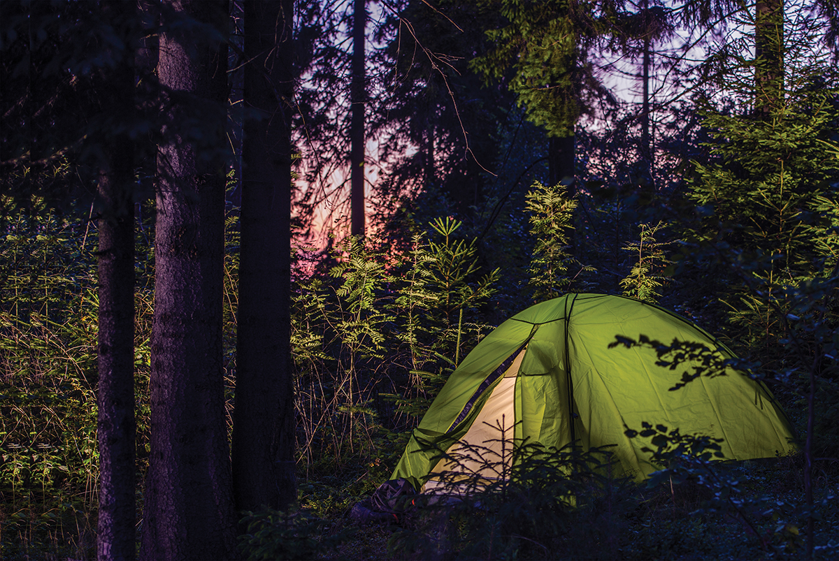 weekend camping trips in southern california orange coast