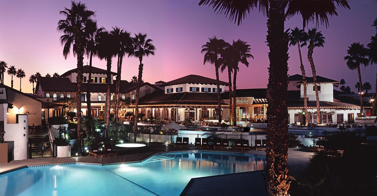 Take A Dip In The Pool Or Relax Lazy River At Omni Rancho Las Palmas
