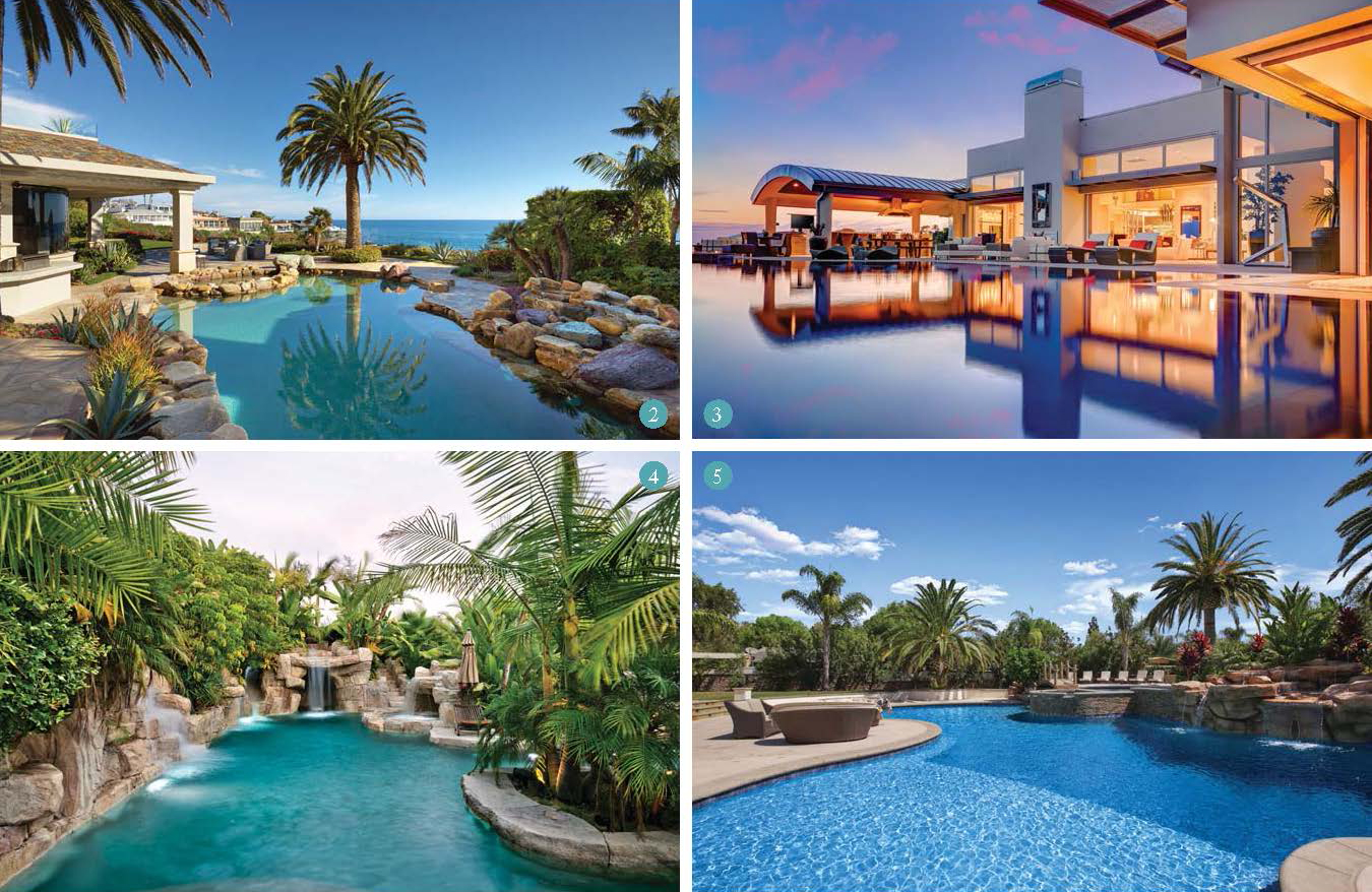 In the laps of luxury for Pool design orange county