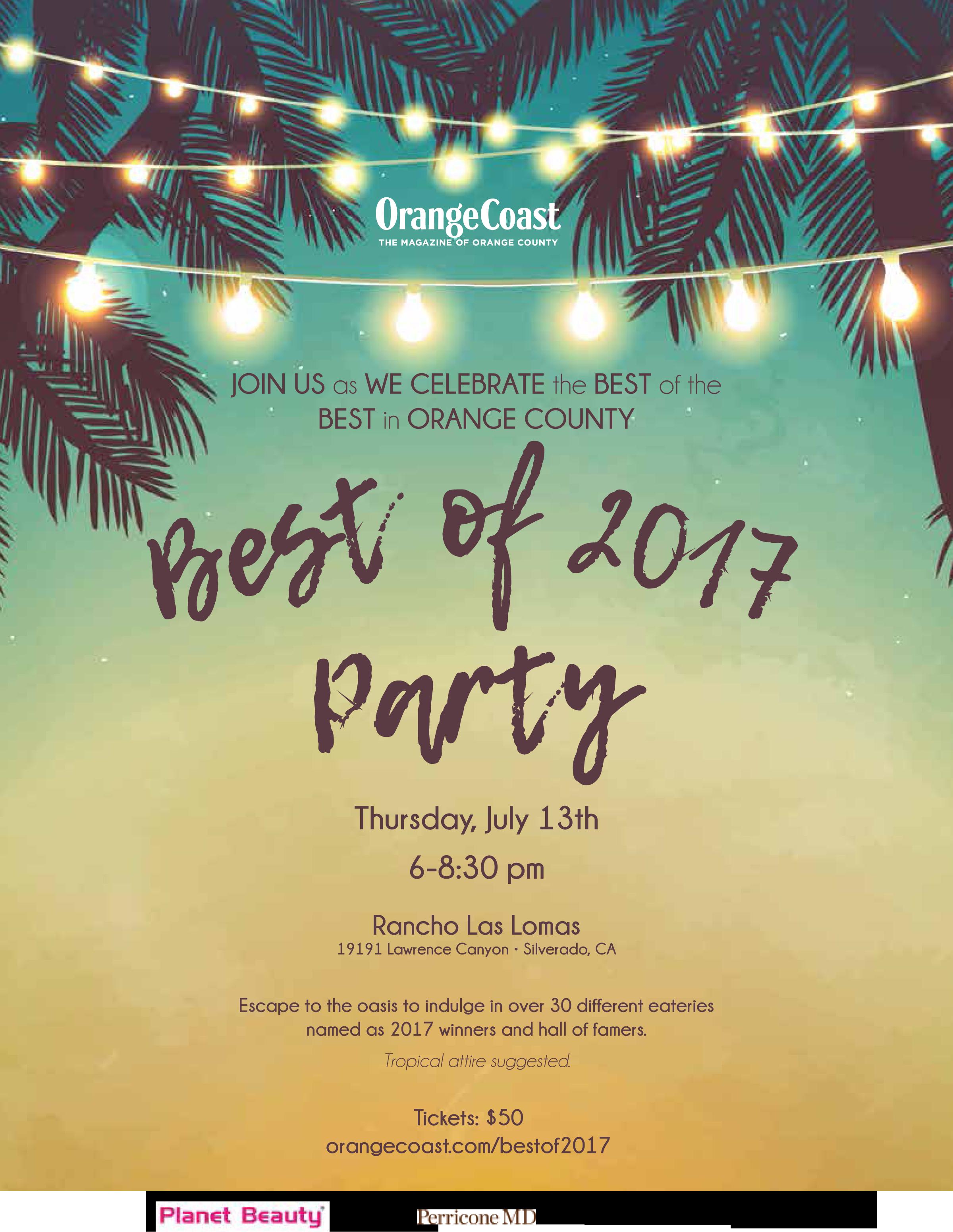 Orange coast best of 2017 party orange coast orange coast best of 2017 party kristyandbryce Images