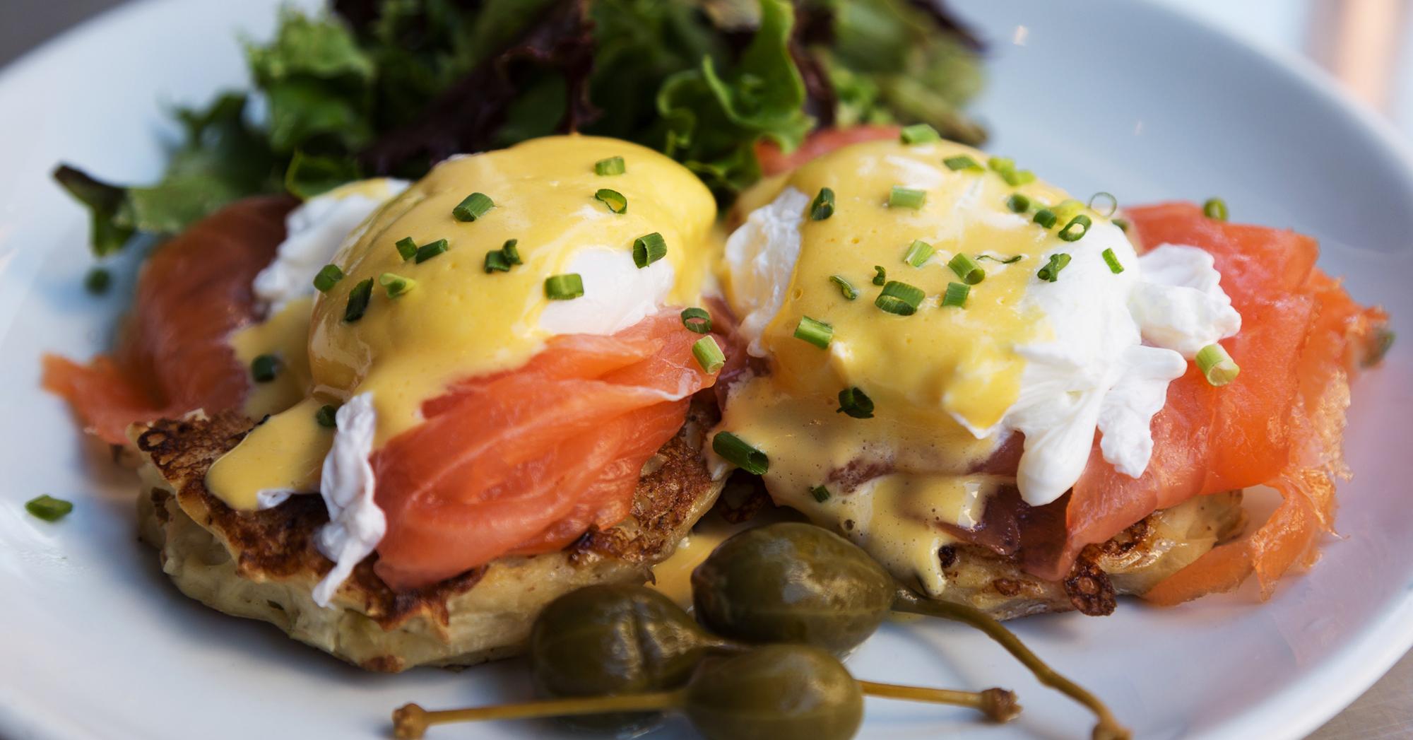 Best Eggs Benedict In Huntington Beach