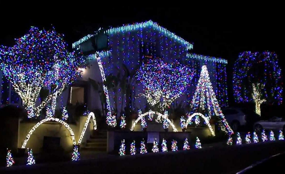 christmas lights in fairmont nc